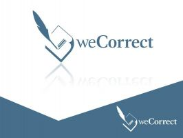 Logodesign We Correct